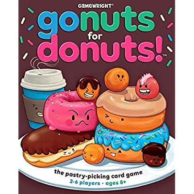 Go Nuts for Donuts – The Fast Pastry Picking Card Game: Toys & Games