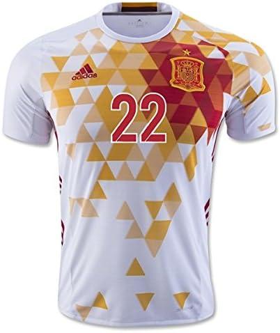 2016-2017 Spain Adidas Away Shirt (Isco 22) - Kids: Amazon.es: Deportes y aire libre
