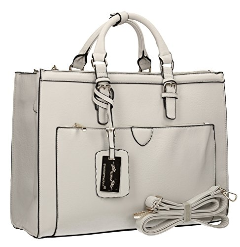 Grey Pale Bag Marcella SwankySwans Cosmo Shoulder Womens Work 0XYwgq