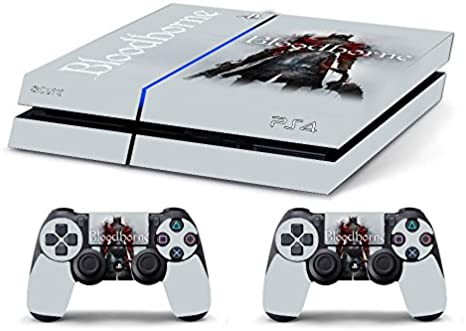 Skin PS4 WhiteP HD BLOODBORNE WHITE - limited edition DECAL COVER ADHESIVO playstation 4 SONY BUNDLE: Amazon.es: Videojuegos