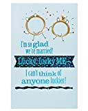 Best Sharing Cards With Glitters - American Greetings Funny Lucky Anniversary Card with Glitter Review