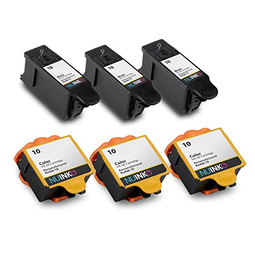 nuinko-6-pack-compatible-kodak-10-ink-cartridges-black-and-color-for-kodak-esp-3250-esp-5250-esp-725