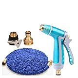 Watering Can Nozzles Magic Garden Hoses Saves Space Reels Showers Flower Cleaning Car Watering Spray Supplies Garden Equipment Nozzles Spray Lawn A+ (Color : Natural, Size : 7.5M)