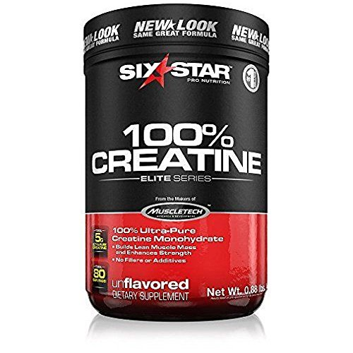 Six Star 100% Creatine Un Size .88z Six Star Elite Series 100% Creatine Unflavored .88z