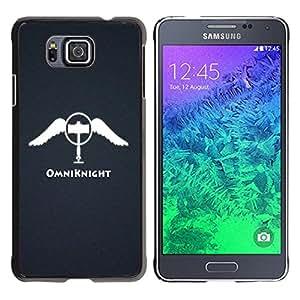 Stuss Case / Funda Carcasa protectora - The Omniknight Angel - Samsung ALPHA G850