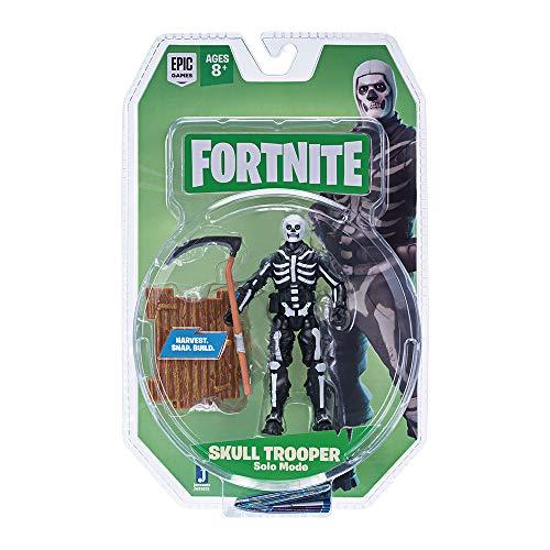 (Fortnite Solo Mode Core Figure Pack, Skull Trooper)