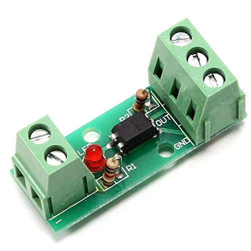 Icstation 12V EL817 1 Channel Optocoupler Isolation Board Positive Phase Amplification High Level Trigger 80KHz ()