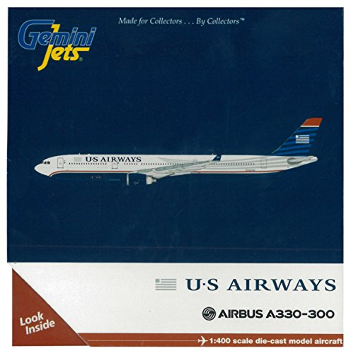 GeminiJets US Airways A330-300 Diecast Aircraft