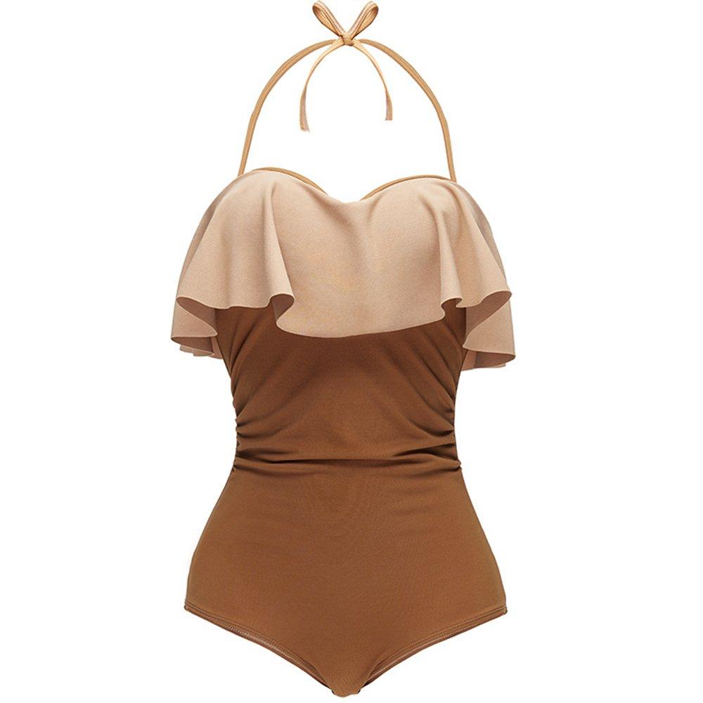 女性の 水着 保守的な 女性の服 スリング シャム スパ 水着 に適して 水泳 ウェディング エクササイズ スパ (Size : M) B07F2BDRNS Medium