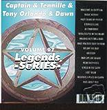 Captain & Tennille Tony Orlando & Dawn Karaoke CD+G Legends #97 15 Song Disc