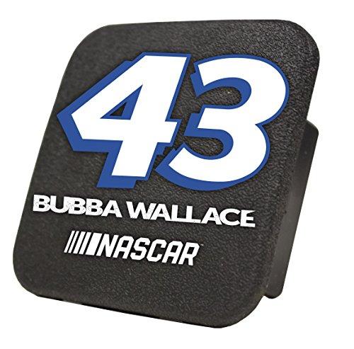 Bubba Wallace #43 NASCAR Rubber Trailer Hitch Cover