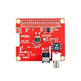 Digi HAT Digital Audio Add-on Board for Raspberry Pi (192KHz, 24bit, SP/DIF, IR)