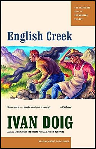 English Creek Montana Trilogy Ivan Doig 9780743271271 Amazon