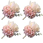 Juvale Rose Flower Heads – 100-Pack Artificial Roses, Perfect Wedding Decorations, Baby Showers, Crafts – Blue, 3 x 1.25 x 3 inches