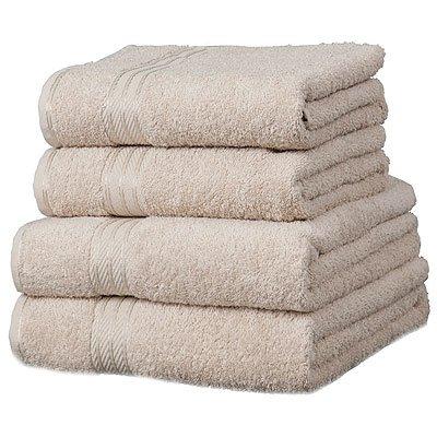 Toalla de baño grande - 100% extraordinario algodón egipcio - Piedra: Amazon.es: Hogar
