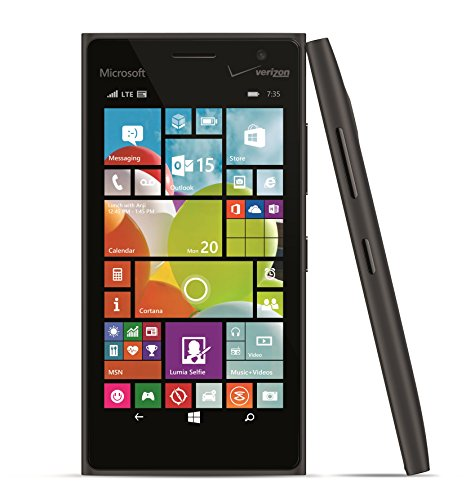 Lumia 735, Black (Verizon Wireless) by Nokia