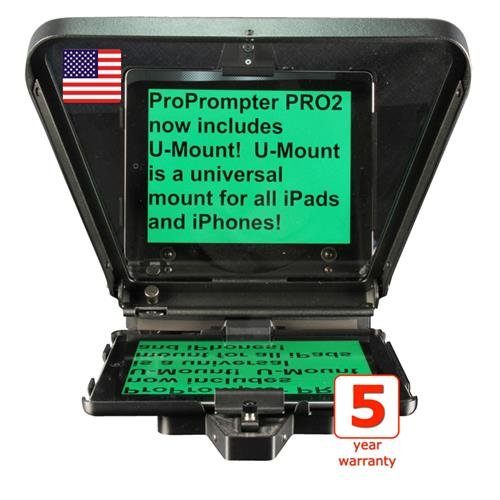 ProPrompter HDi Pro2 iPad Teleprompter Kit by ProPrompter