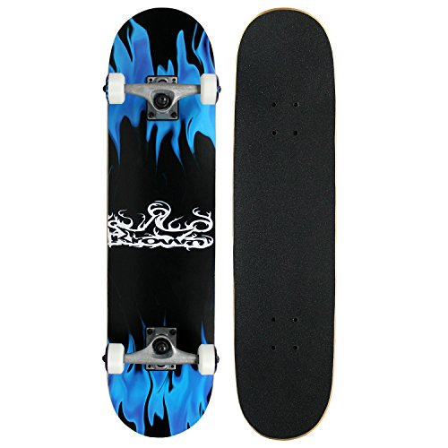 krown-rookie-complete-skateboardblue-flame