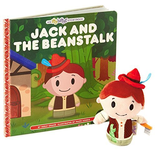 Hallmark itty bittys Jack and the Beanstalk Stuffed Animal and Storybook Set