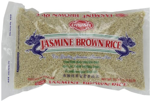 Price comparison product image Dynasty Jasmine Brown Rice,  5-Pound