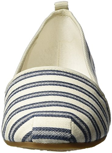 Tamaris Ladies 24668 Drops Blau (navy Stripes 874)