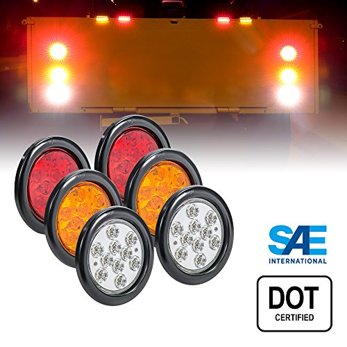Round Led Rear Lights in US - 6