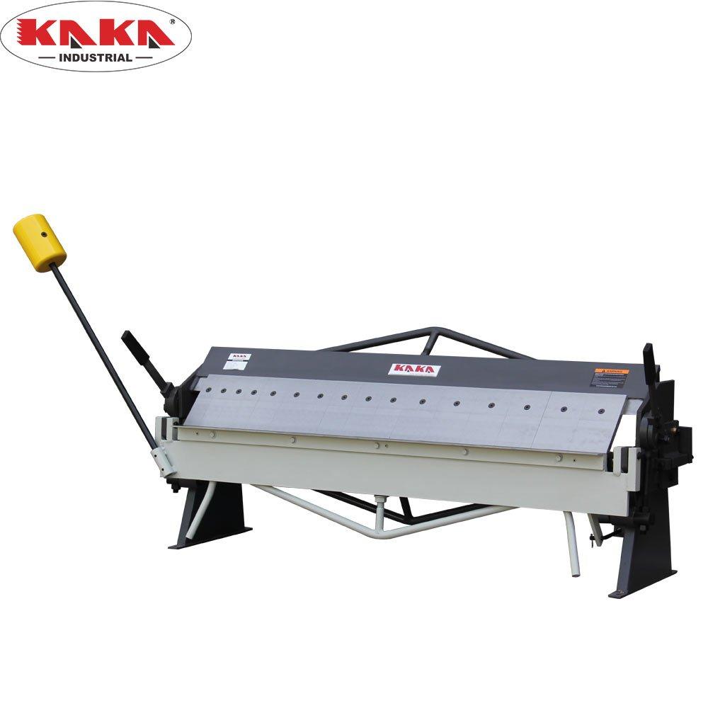 KAKA Industrial 50-Inch Sheet Metal Pan and Box Brake, 16 Gauge Mild Steel Capacity, Broad Application, High Versatility Box and Pan Sheet Metal Brake
