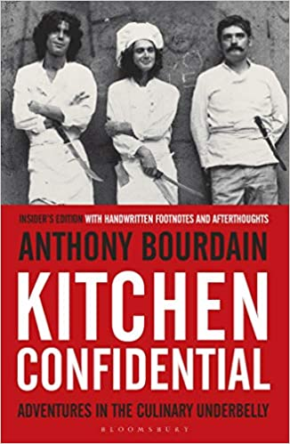 kitchen confidential insider s edition amazon ca anthony bourdain