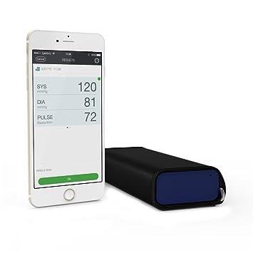 QardioArm -Tensiómetro Inalámbrico para iOS y Android, Color Azul Noche: Amazon.es: Salud y cuidado personal