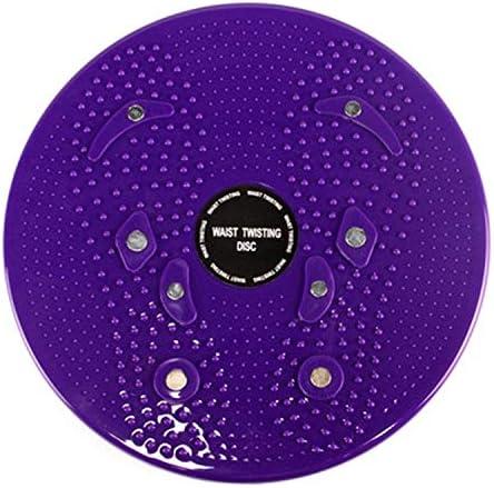Formato 25 Blu 3cm N//A Casa tranquilla Bicicletta Esercizio aerobico Fitness Magnet Wriggling Vita Disco Twist Consiglio