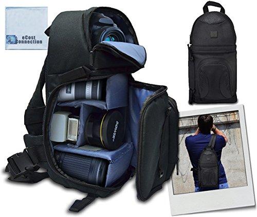 Deluxe Digital Camera/Video Sling Style Shoulder Bag for Can