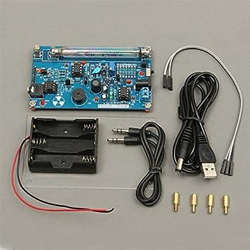 quickbuying nueva portátil mango contador Geiger montado DIY Kit nuclear radiación detector con Miller Tubo Beta Gamma Ray: Amazon.es: Electrónica