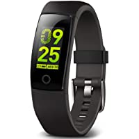 Waterproof Health Tracker,MorePro Fitness Tracker Color Screen Sport Smart Watch,Activity Tracker with Heart Rate Blood…