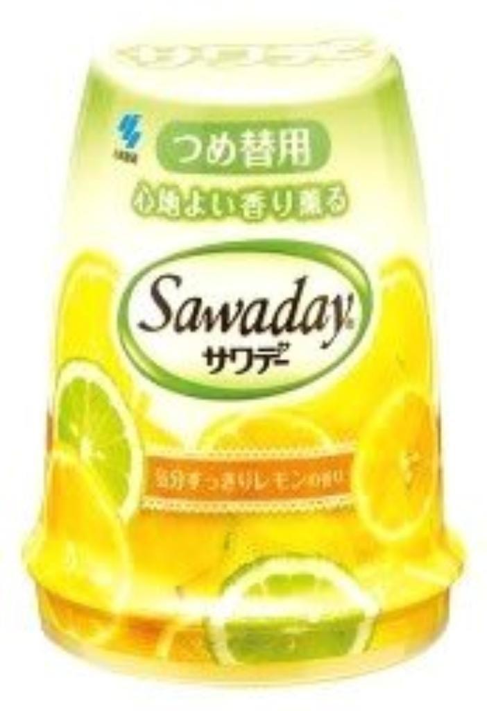 (まとめ買い)小林製薬 香り薫るサワデー詰替 レモンの香り 【×50セット】 B01HIB0KQW