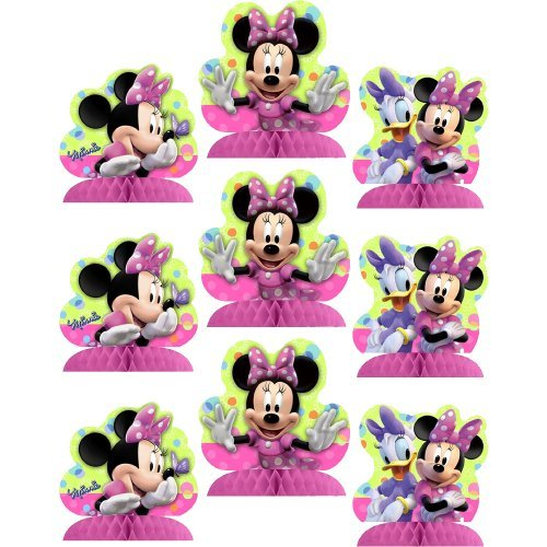 Disney Minnie Mouse Bow-tique Table Decorating Kit - 9 -
