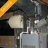 Central Humidifier Installation - Replacement