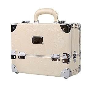 Amazon.com: Premium Make Up caja Glam Beige caja de ...
