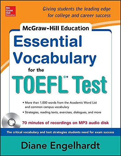 McGraw-Hill Education Essential Vocabulary for the TOEFL?? Test with Audio Disk by Engelhardt Diane (2014-12-01) Audio CD