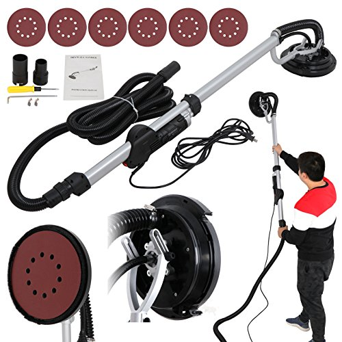 ZENY 800W Drywall Sander Electric Adjustable Variable Speed Dry Wall Sanding NEW by ZENY