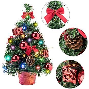 EFORINK Mini Christmas Tree with Lights 18