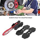 Brake Caliper Press, Durable Car Brake Pad Caliper Press Ratchet Caliper Piston Spreader Retracting Car Garage Tool