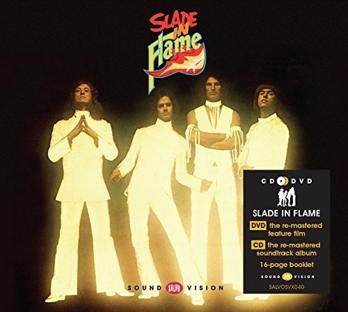 SLADE IN FLAME CD AND DVD