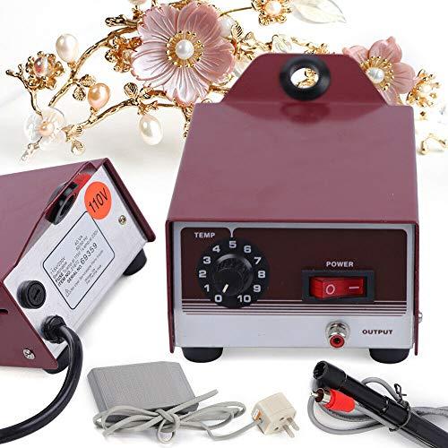 Soldering Wax Machine, Wax Welder Jewelry Equipment Wax Soldering Tool Red US Warehosue