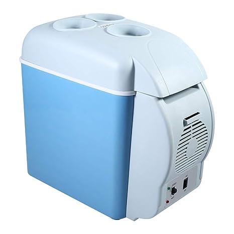 Mini frigorífico de doble uso caliente y frío coche, 12 V 7,5L ...