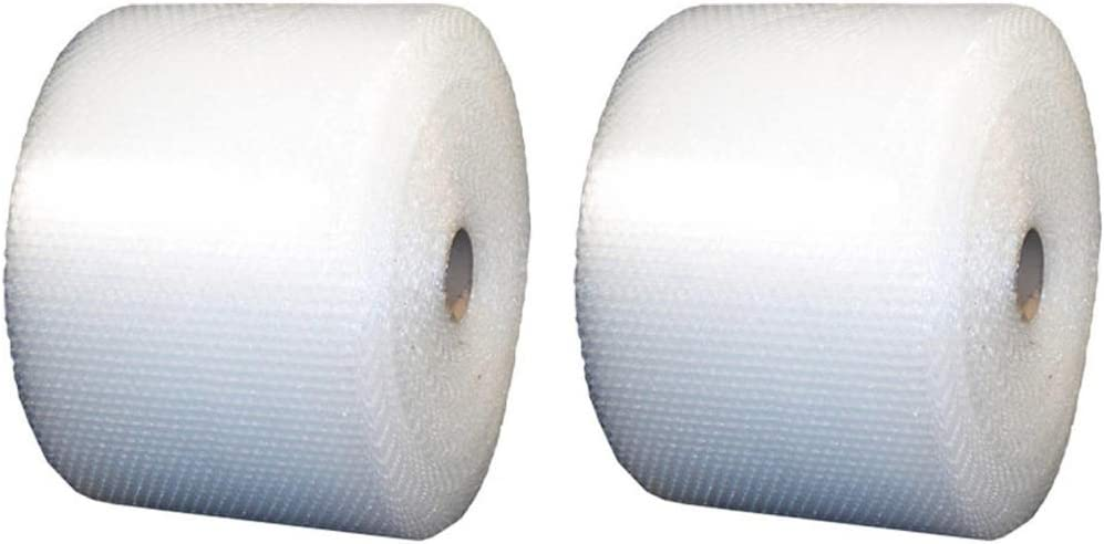 Uboxes Small Bubble Cushioning Wrap 12 x 175-Feet Long Roll Perforated 12