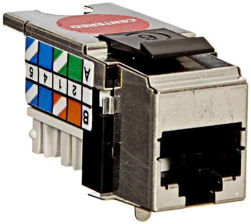 Fluke Networks Dtx 1800 - Fluke Networks DTX-PCTAC6KS Shielded Cat 6 Jacks for Replacement of DTX-PC6S Patch Cord Test Adapters Jacks (Set of 2)