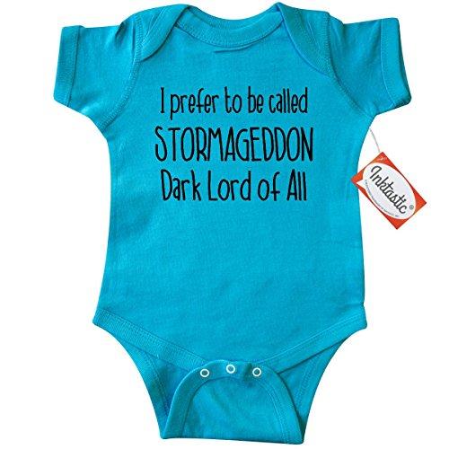 Inktastic Unisex Baby Stormageddon Infant Creeper 24 Months Turquoise