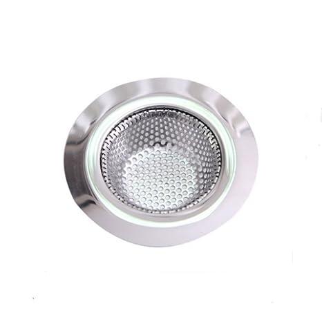 Amazon.com: Filtro de drenaje para fregadero de acero ...