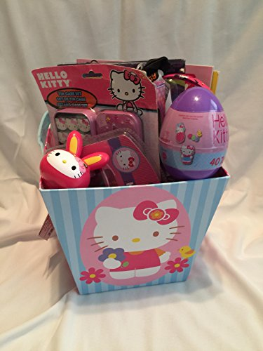 Hello Kitty All Occasion Gift Basket - Easter, Get Well Soon, Birthday