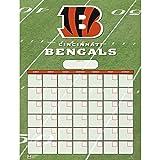 Cincinnati Bengals Dry Erase Reusable Calendar